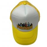 czapka FORTNITE z daszkiem dziecięca żółta