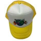 czapka AMONG US z daszkiem dziecięca żółta