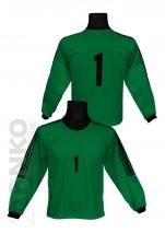 bluza bramkarska - zielona