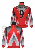 bluza sportowa Polska - LEWANDOWSKI wzór 4