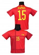 koszulka sportowa SERGIO RAMOS Hiszpania