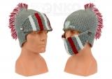 czapka zimowa POLSKI - hełm szara wzór G-21