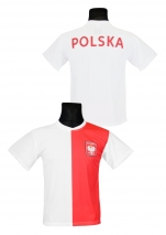 koszulka kibica reprezentacji Polski jubileuszowa (K-01)