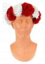 opaska POLSKI na głowę kwiaty