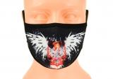 maska ochronna na twarz POLSKA czarna ROZMIAR L wzór M58