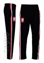 spodnie dresowe POLSKA czarne - (PL-02)