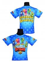 koszulka BRAWL STARS LEGENDY wzór B5