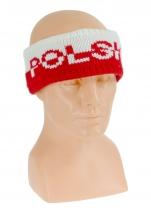 opaska na głowę POLSKA gruba wzór OP-02